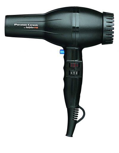 BaBylissPRO Porcelain Ceramic 2800 Babyliss Hair Dryer, Black