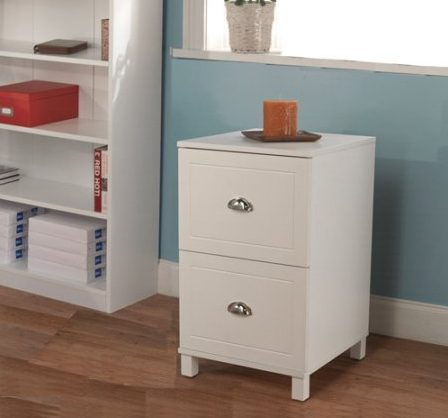Bradley 2-Drawer Wooden Filing Cabinet