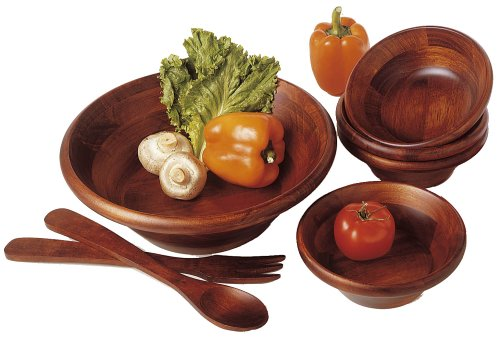 Cherry Collection 7-Piece Salad Set