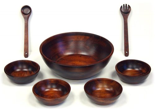 Mountain Woods Salad Bowl Set