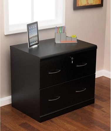 Z-Line Designs 2-Drawer Lateral File Cabinet, Wooden File Cabinets