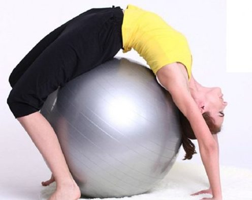 Anti Burst Exercise Ball - Extra Thick Stability Ball Yoga Ball Fitness Ball