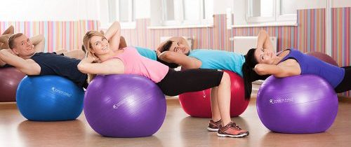 Anti-Burst, Non-Slip Exercise Balls Guide