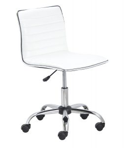BTExpert-Armless-Designer-Leather-upholstery-White-Office-Chair