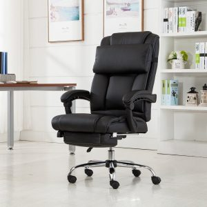 Belleze-Executive-Reclining-Footrest-Armchair-Reclining Office Chair