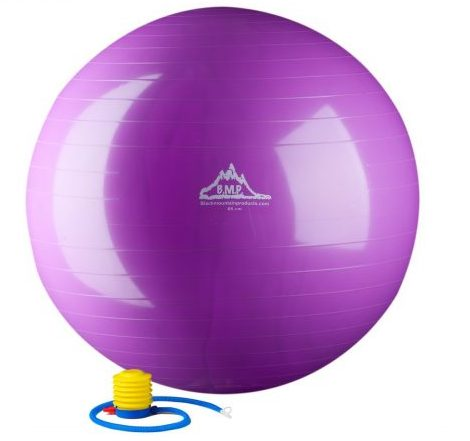 Black Mountain 2000lbs Static Strength Exercise Stability Ball