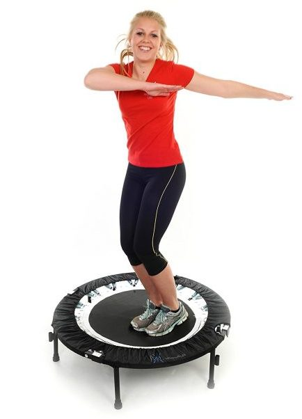 Bounce & Burn II - Mini Trampoline