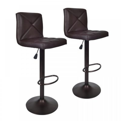 Incredible Top 10 Best Leather Bar Stools In 2019 Reviews Thez7 Short Links Chair Design For Home Short Linksinfo
