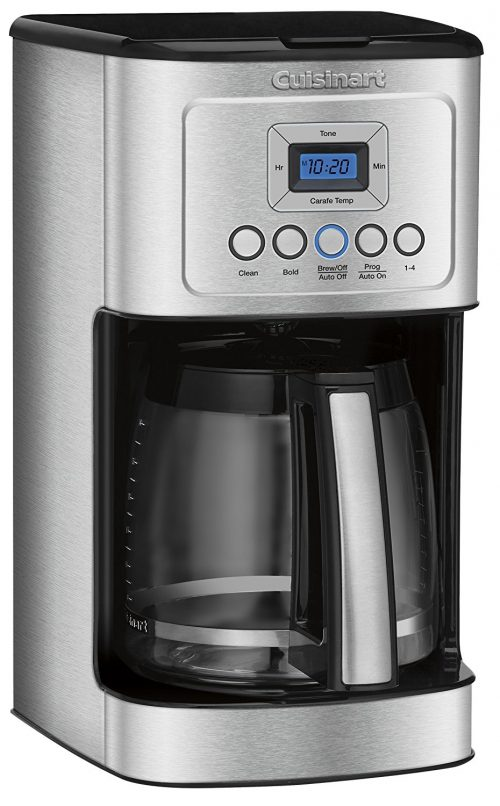 Cuisinart DCC 14-Cup Glass Carafe with Stainless Steel Handle Programmable Coffeemaker