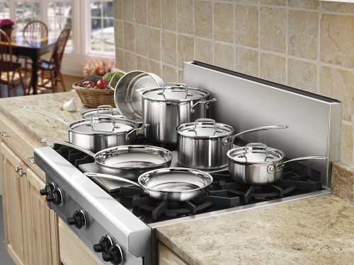 Cuisinart MCP-12N Multiclad Pro Stainless Steel Pot Sets