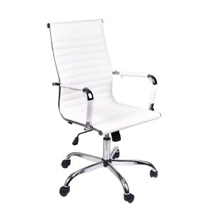 Elecwish-Adjustable-Executive-Furniture-Conference-White-Office-Chair