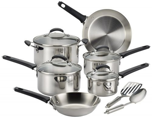 Endura Stainless Steel Dishwasher Safe Cookware Set, Stainless Steel Pot Sets