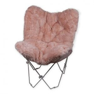 Faux-Fur-Butterfly-Chair-Blush
