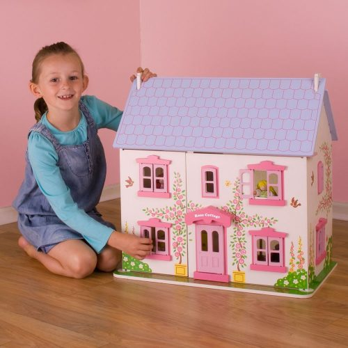 Heritage Playset Rose Cottage - Wooden Doll House