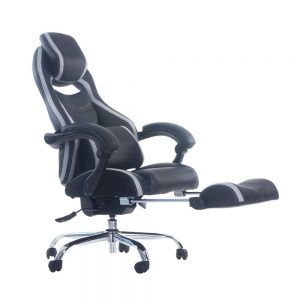 Merax-Executive-Leather-Footrest-Reclining-Office-Chair