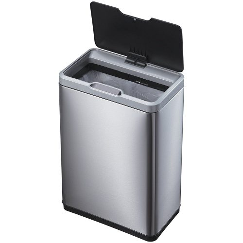 Mirage Motion Sensor Touchless Stainless Steel Trash Can