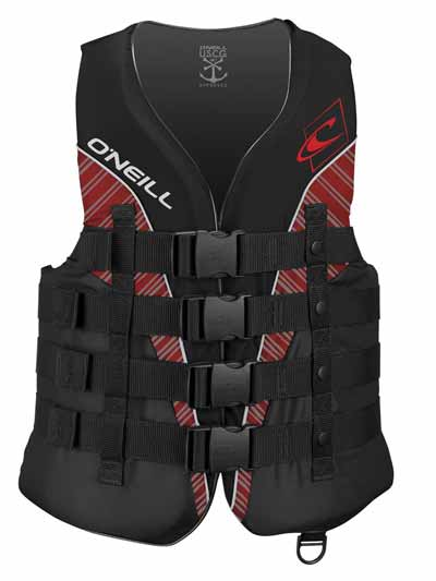O'Neill Wake Waterski Men's Superlite USCG Vest