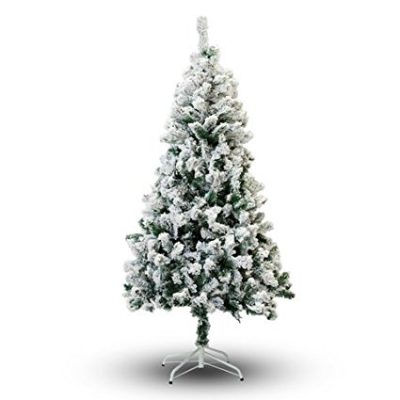Perfect-Holiday-Flocked Christmas-Tree