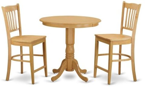 Piece High Top Table and 2 Bar Stools Set