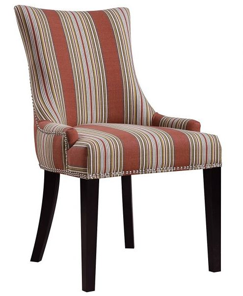 Pulaski Imperial Stripe Upholstered Dining Chair