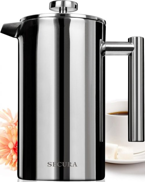 Secura Stainless Steel French Press Stainless Steel Coffee Makers