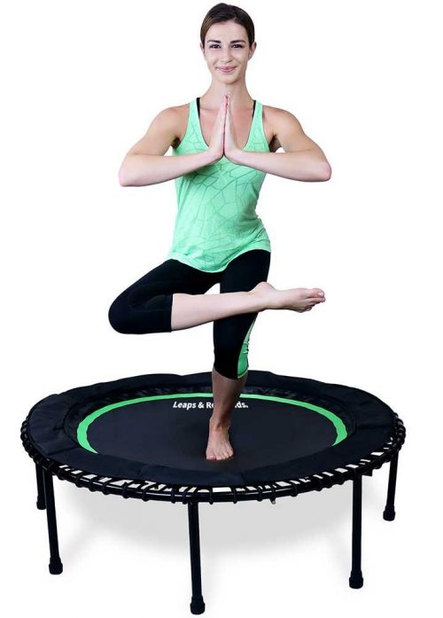 The In-Home Mini Trampoline - Safety Bungee Cover
