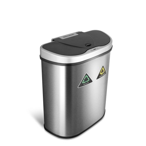 The Original Touchless Automatic Motion Sensor Trash Can:Recycler,