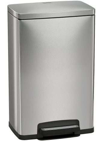 Tramontina 13 Gallon Step Trash Can Stainless Steel