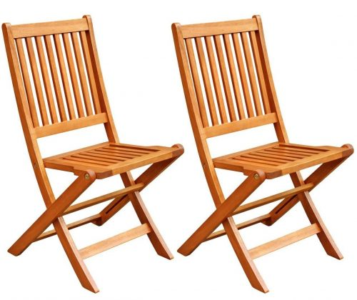 Win Outdoor Hardwood Folding Chair