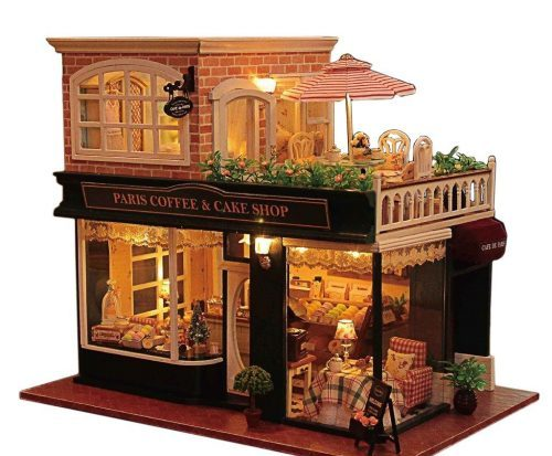 Wooden Handmade Dollhouse Miniature