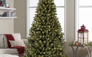 Best-Choice-Products-Artificial-Christmas fiber optic Christmas tree