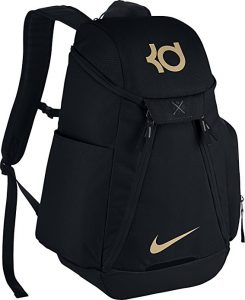 Elite-Basketball-Backpack-Black-Metallic Basketball Backpacks
