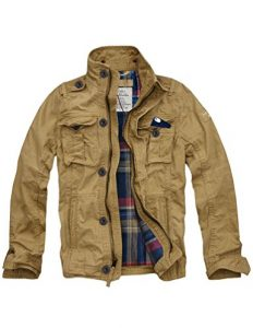 Flannel-Lined-Military-Jacket-men Cargo