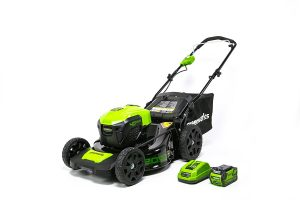 GreenWorks-MO40L410-Cordless-Technology-included-Lawn Mowers Battery