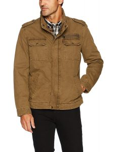 Levi's Men's Washed Cotton Two Pocket Military Jacket men