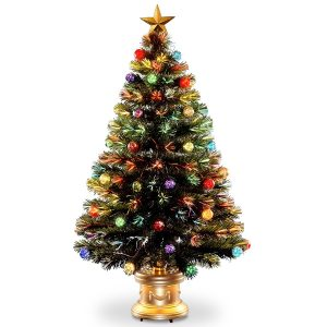 National-Tree-Fireworks-Multicolored-Fiber Obtic Tree