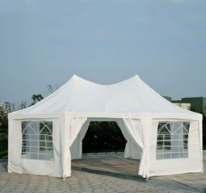 Outsunny-Octagon-8-Wall-Canopy-Gazebo-Party Tent