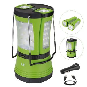 Rechargeable-Detachable-Flashlight-Resistant-Emergency-Camping Lantern