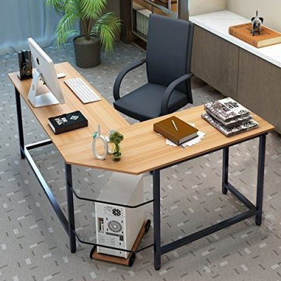 Tribesigns-Modern-L-Shaped-Computer-Workstation-Study Table
