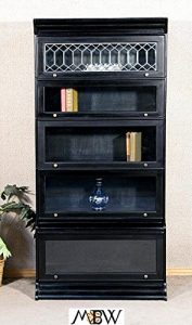 Barrister-Stacking-Bookcase-Display-Leaded