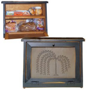 Country-Rustic-Primitive-Bread-Willow bread boxes