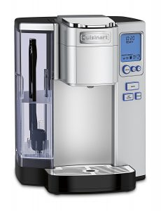 Cuisinart-SS-10-Single-Serve-Small Coffee​ maker-Stainless