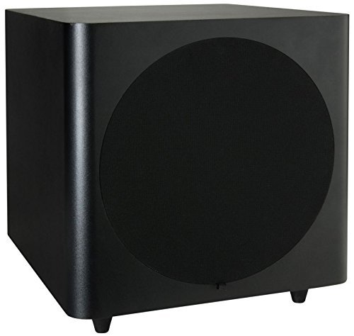 Dayton Audio SUB-1000 10-Inch 100 Watt Powered Subwoofer (Black)