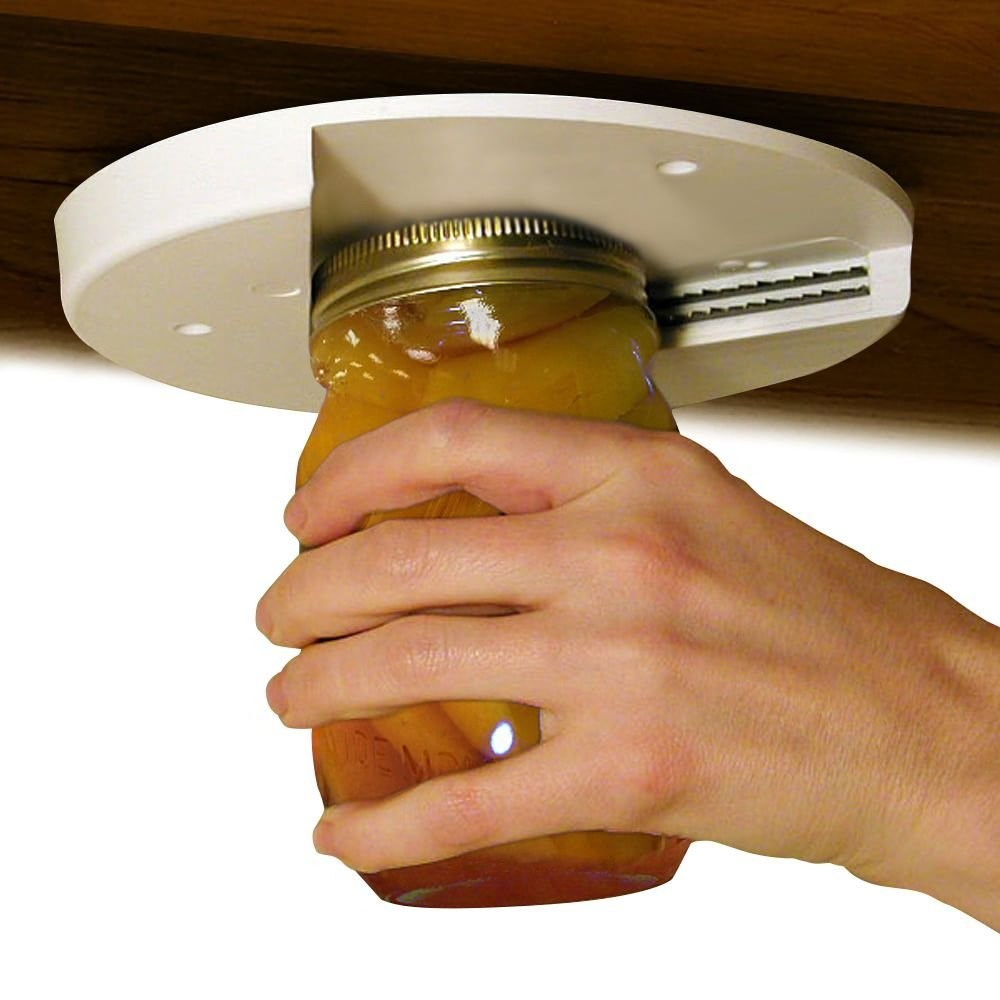 EZ Off Jar Opener For All Jar Sizes, White