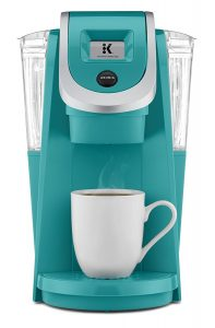 Keurig-K250-Programmable-strength-Turquoise Small Coffee Maker