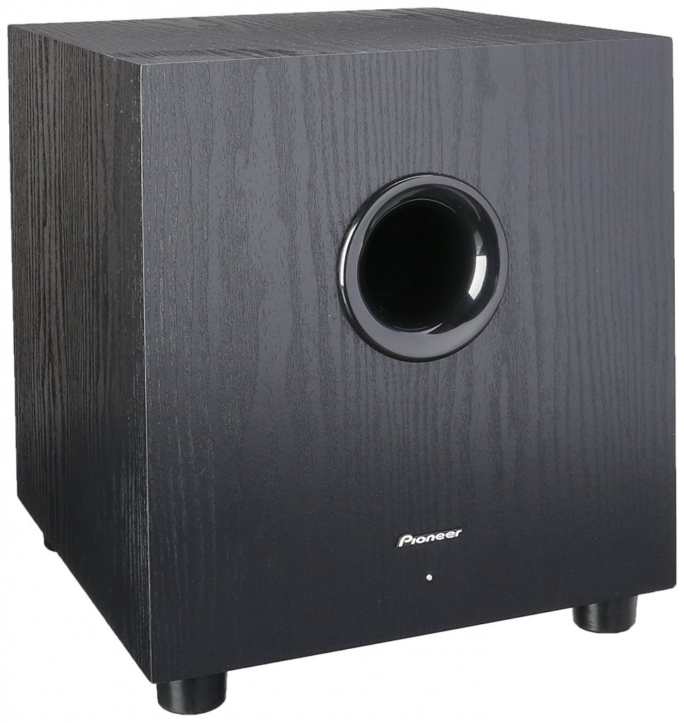 Pioneer SW-8MK2 Andrew Jones Designed 100-Watt Powered Subwoofer- Top 11 Best Home Audio Subwoofers in 2017