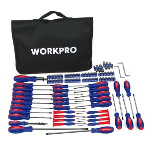 WORKPRO-W000808A-130-Piece-Screwdriver-set Carrying
