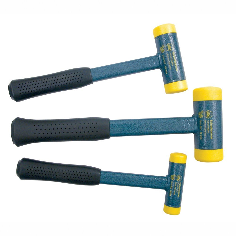 Wiha 80290 Medium Hard Dead Blow Hammer Set, 3-Piece - Top 11 Best Dead-Blow Hammers in 2020