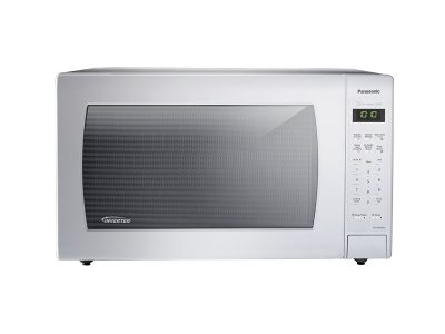 Panasonic NN-SN936W Countertop Microwave with Inverter Technology, 2.2 cu. ft., White