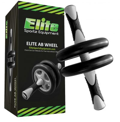 Elite Sportz Ab Wheel Roller Pro with Dual Wheels for Extra Stability. Comes Fully Assembled, is Sturdy, Smooth Rolling, has Very Comfortable, Non- Slip Handles and Will Certainly Last You a Lifetime